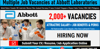 Join Exciting Careers at Abbott- Find Multiple Abbott Laboratories Jobs and Vacancies Worldwide
