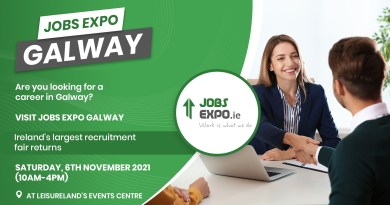 Jobs Expo returns to Galway on Saturday, 6th November 2021