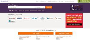 Top Singapore Job Portals