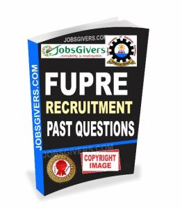 FUPRE exam / job aptitude test past questions