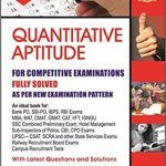 rs aggarwal quantitative aptitude book