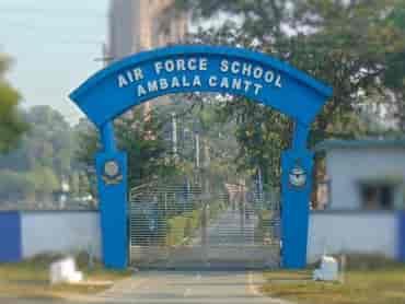 air force school ambala cantt.