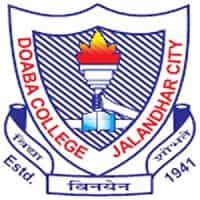 doaba college jalandhar city logo