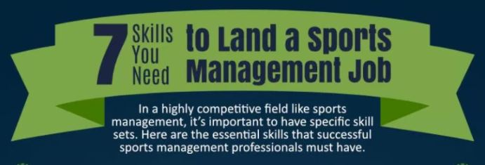 Sports Management Skills Job