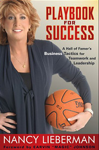 sports management books playbook for success nancy lieberman