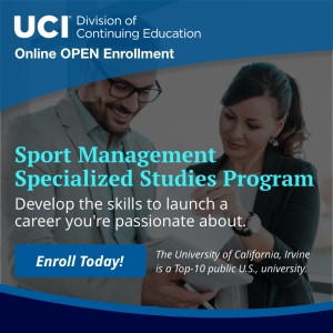 sports management certification university california irvine