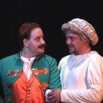 (L-R) David M. Jenkins and Shawn Paonessa in Jobsite's Cloud Nine (2003 production).