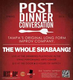 PDC's The Whole Shabaang! plays May 18, 2014.