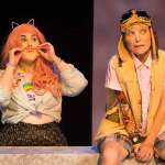 Lauren Field and Roxanne Fay in Jobsite's As You Like It. (Photo by Pritchard Photography.)