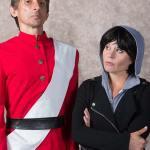 Giles Davies and Katrina Stevenson in Jobsite's Cloud Nine. (Photo courtesy Pritchard Photography.)