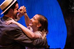 Adam Workman and Emily Belvo in Jobsite's Dancing at Lughnasa. (Photo courtesy Pritchard Photography.)