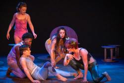 The ensemble in Jobsite's A Midsummer Night's Dream. (Photo: Pritchard Photography.)