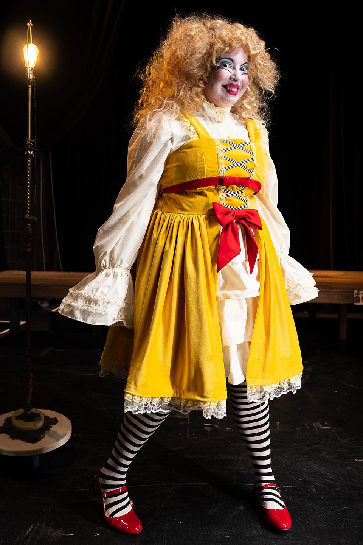 Colleen Cherry in Jobsite's Shockheaded Peter. (Photo: James Zambon Photography)