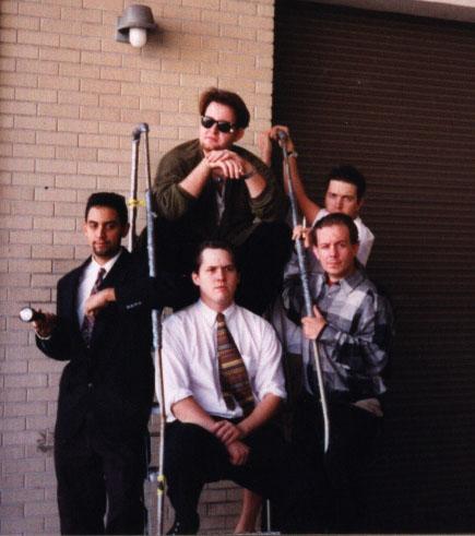"Jobsite's ""Founding Five"" clockwise: David M. Jenkins, John Lott, Jason Evans, Alan Fessenden, Michael Caban"