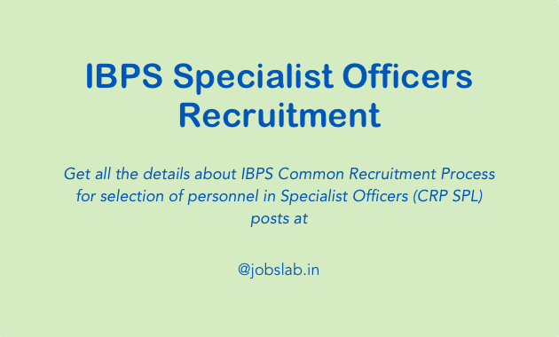 ibps-specialist-officers-recruitment