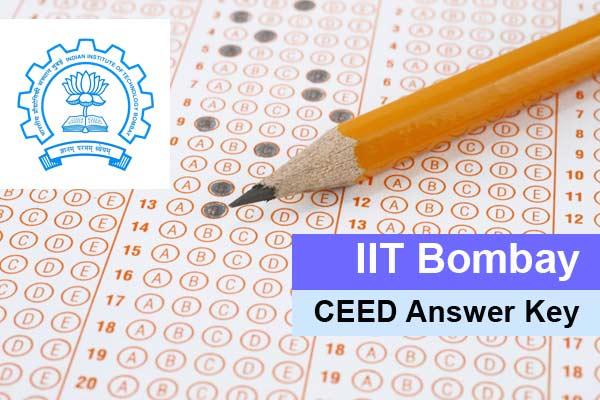 GATE IIT Bombay CEED Answer Key