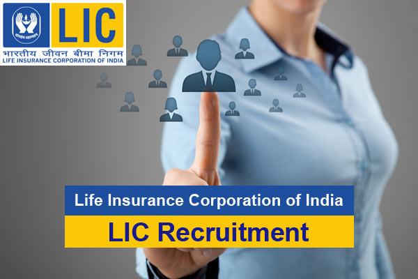 LIC AAO Recruitment at licindia.in