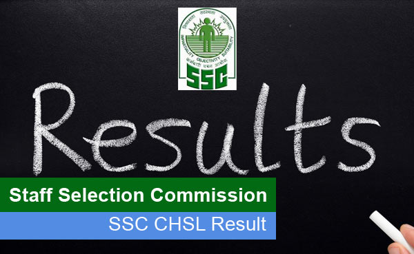 SSC CHSL Result 2017