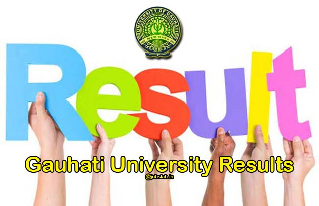 Gauhati University Result 2016 for BSc, BA, BCom Declared