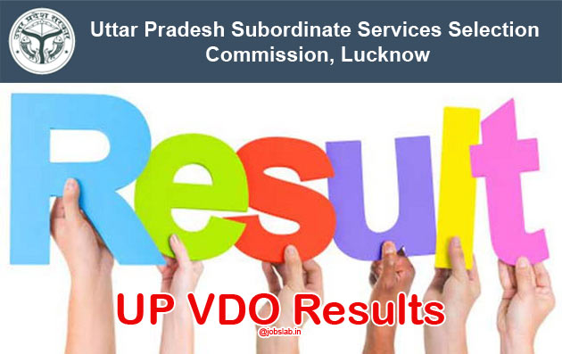 UP VDO Result 2016 Check UPSSSC Gram Panchayat Adhikari Merit list & Cut off