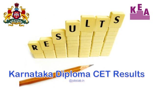 Karnataka Diploma CET Result 2016 - Check KEA DCET 2016 Results