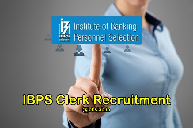 IBPS Clerk Recruitment 2016 (CWE VI) Notification Apply for 19243 Clerk Posts