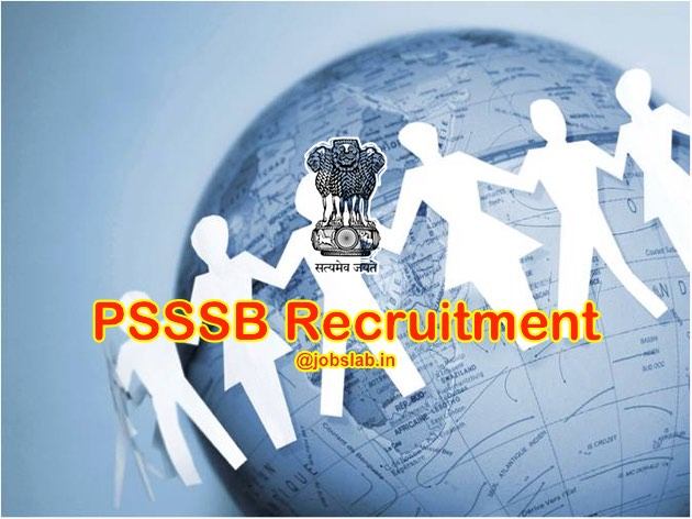 PSSSB Recruitment 2016 Apply Online for 2200 Clerk, Steno Posts