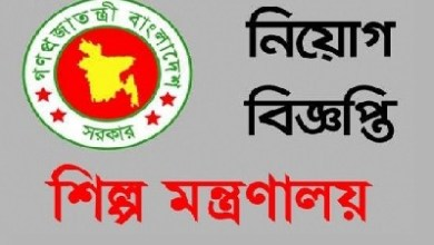 Photo of Ministry Of Industries Job Circular 2019