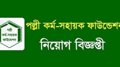 Photo of Palli Karma-Sahayak Foundation (PKSF) Job Circular 2019