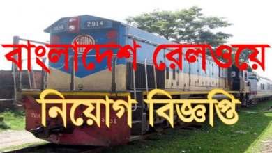 Photo of Bangladesh Railway Job Circular 2019