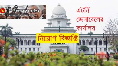 Photo of Attorney General's Office Job Circular 2019