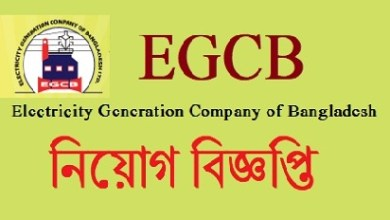 Photo of Electricity Generation Company of Bangladesh Job Circular 2019