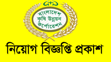 Photo of Bangladesh Agricultural Development Corporation Job Circular 2021