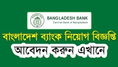 Photo of Bangladesh Bank Job Circular 2021