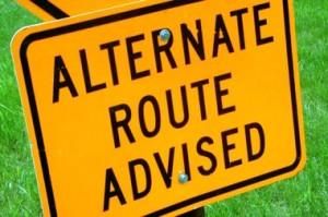 Alternate Route Advised
