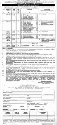 Ministry of Planning Development Jobs 2020/pc.gov.pk