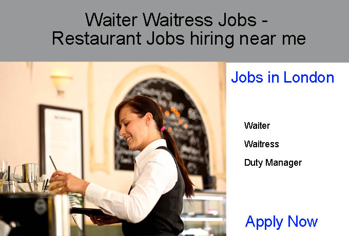 Restaurant Jobs Near Me