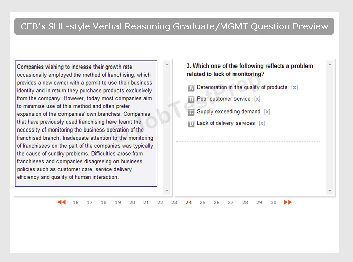 FREE Verbal Reasoning Test 15 Practice Questions