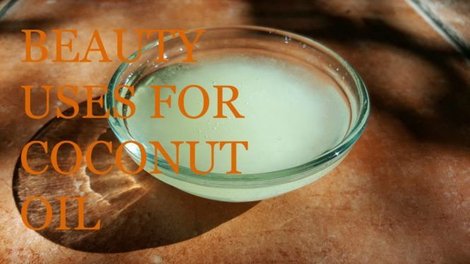 beauty uses for coconut oil