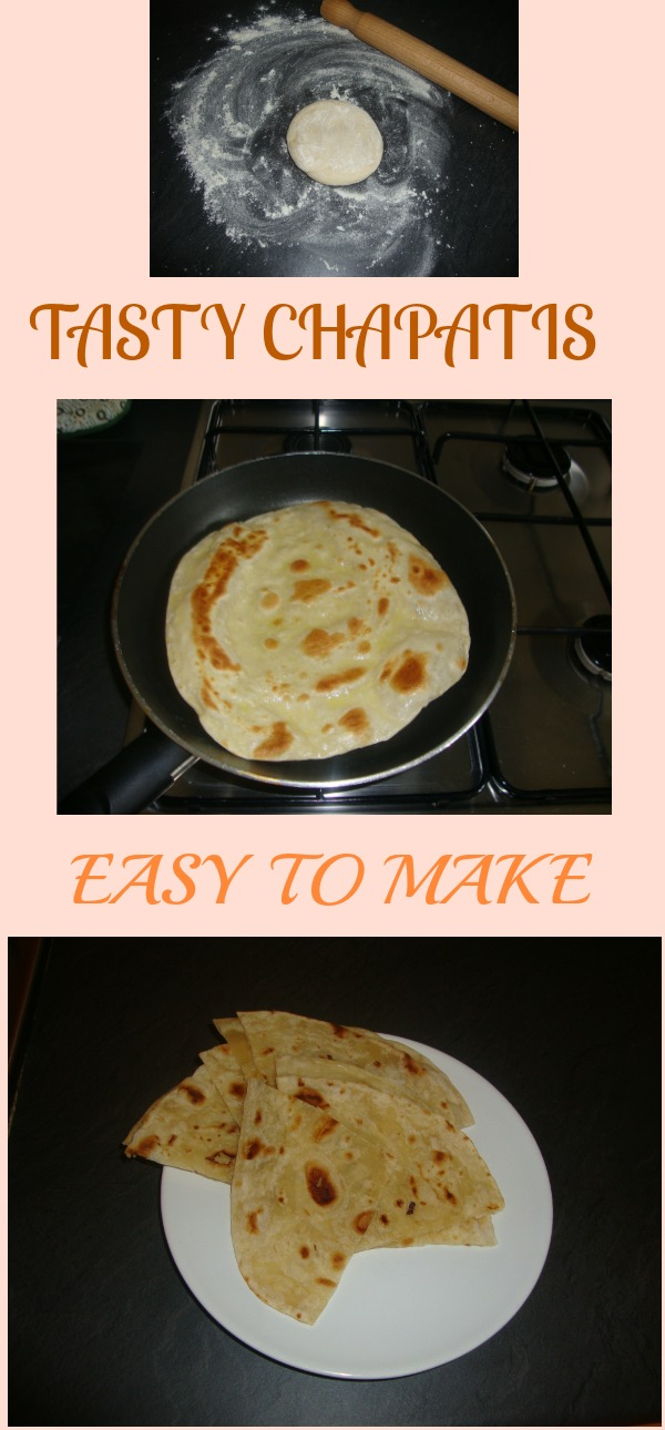 my chapati recipe