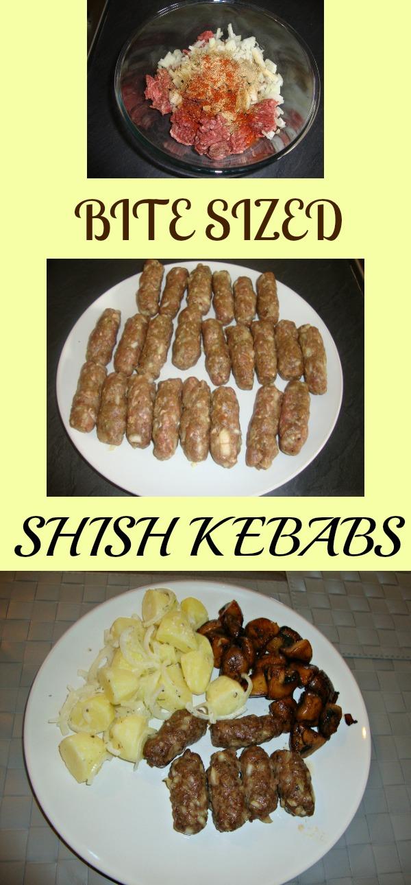 kicking it shish kebab style