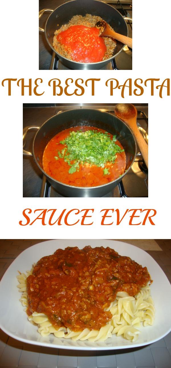 The best pasta sauce recipe