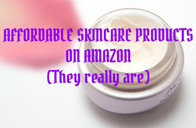 affordable skincare products on amazon