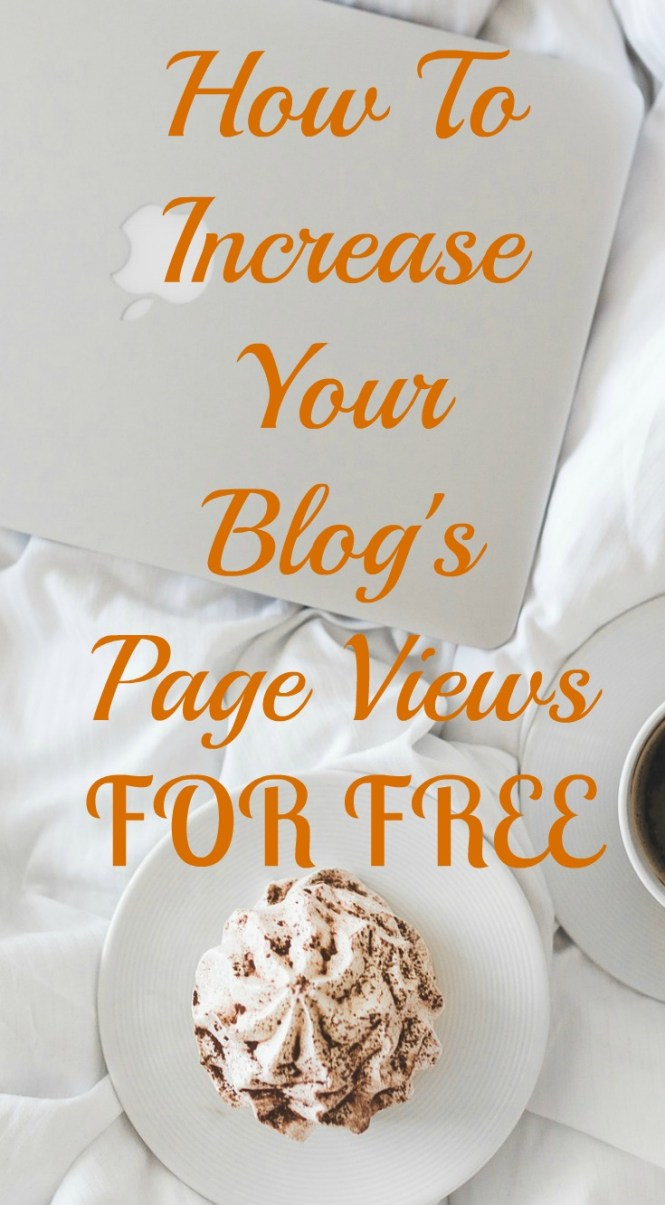 how to increase your blog's page views