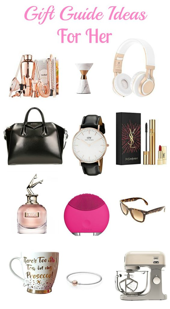 Gift guide ideas for her