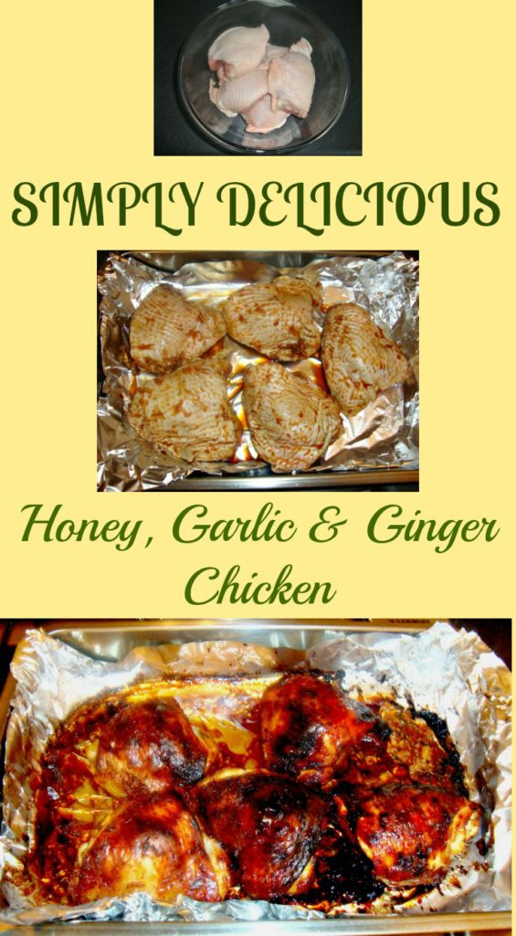 HONEY, GARLIC & GINGER CHICKEN
