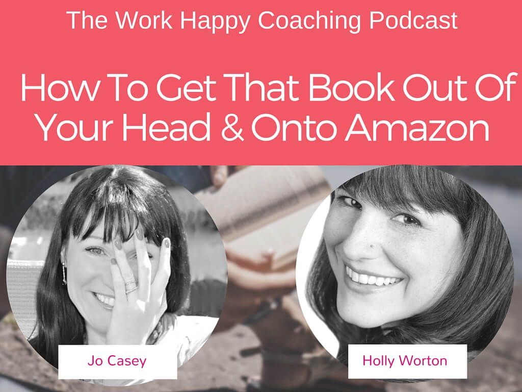 how to get that book out of your head and onto amazon