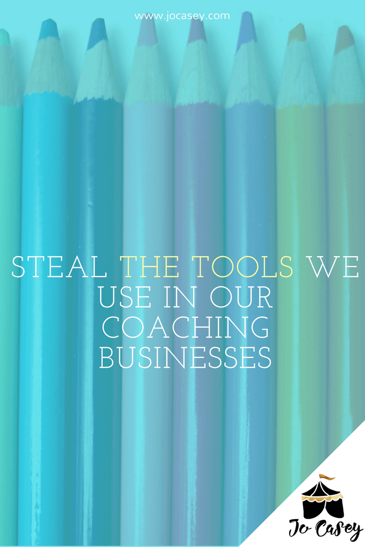 steal the tools we use to run our coaching businesses