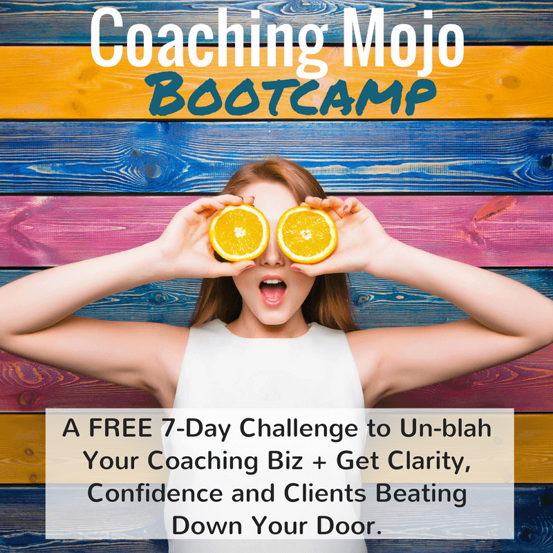 Coaching Mojo bootcamp