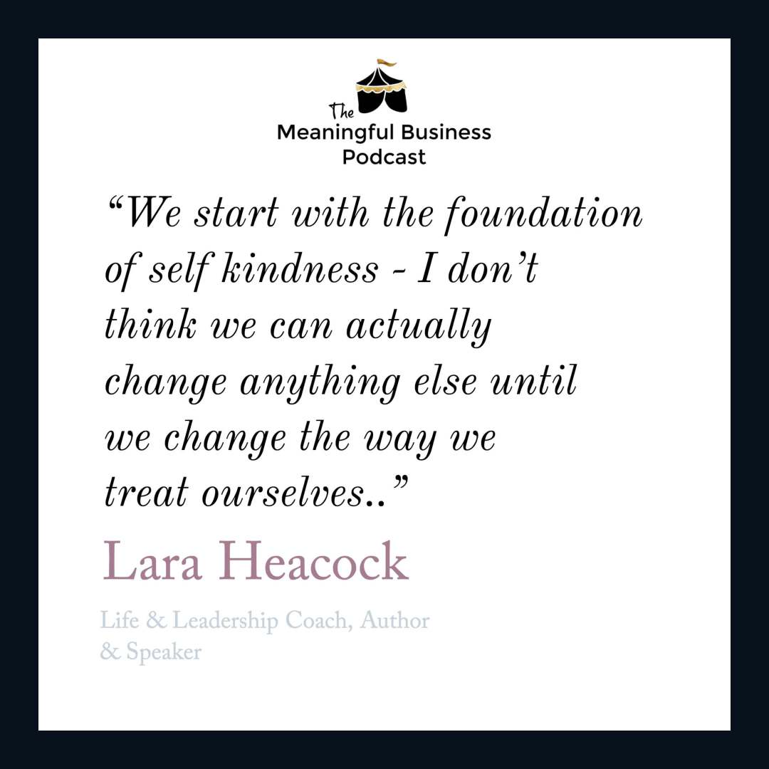 Lara Heacock Believes Kindness Can Be Radical & World-Changing